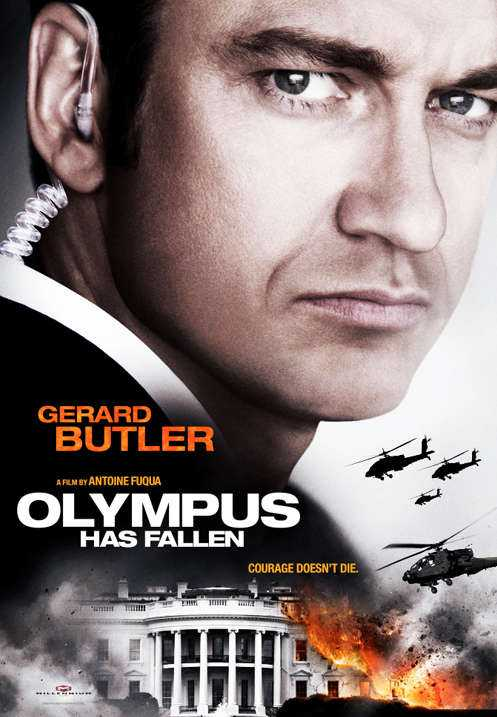 "Affischen för ""Olympus has fallen""."