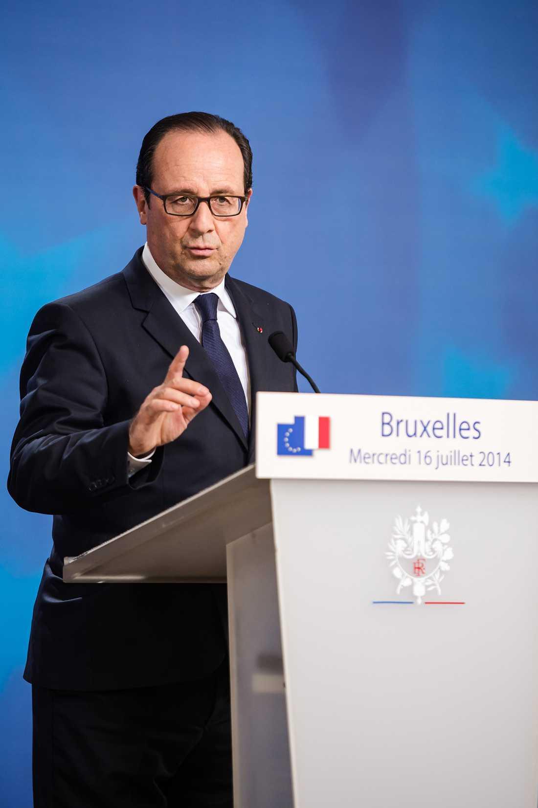 Frankrikes president Francois Hollande.