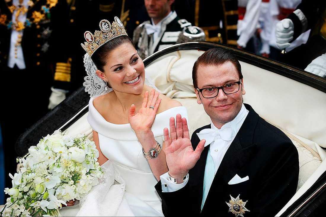 Victoria och Daniel.