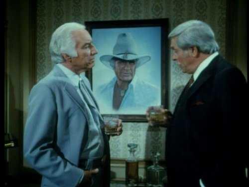 "Morgan Woodward i ""Dallas""."