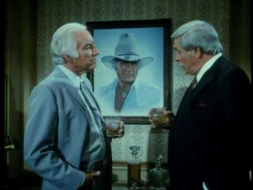 "Morgan Woodward i ""Dallas""."