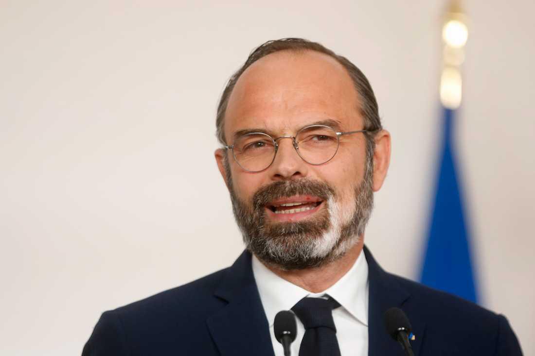 Frankrikes premiärminister Edouard Philippe. Arkivbild.