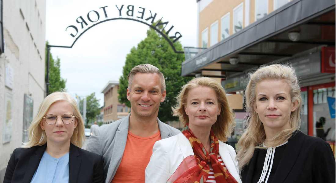 Hela Stockholm ska jobba, ha bra skolor, vara tryggt och präglas av attraktiva stadsmiljöer, skriver debattörerna.