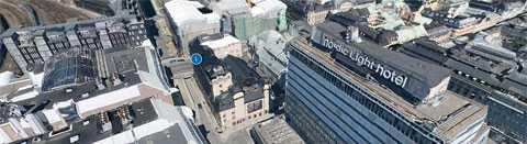 Rånarna slog till mot värdetransporten vid Casino Cosmopol i Stockholm.