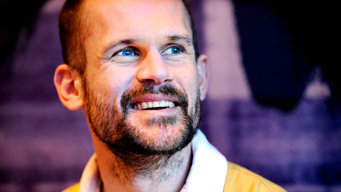 Stefan Holm (f d höjdhoppare).