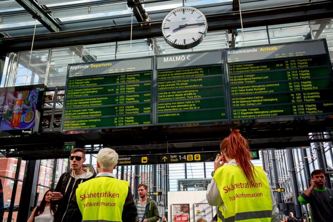 Dags att gå hem I går stod det klart att tågstrejken är över. Det blev en viktig seger för Seko och tågpersonalen.