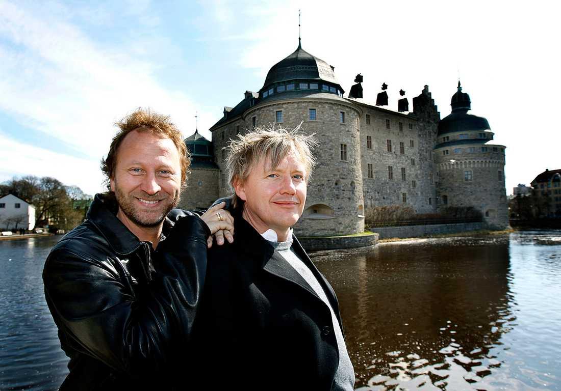 Författarna Sören Olssons och Anders Jacobsson.