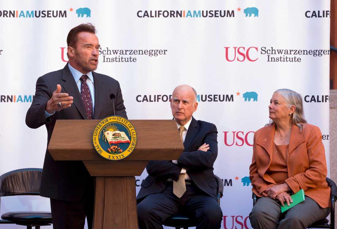 Arnold Schwarzenegger i Sacramento, 2016.