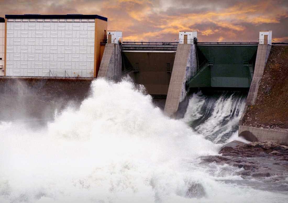Vattenkraftverk, Lule älv.