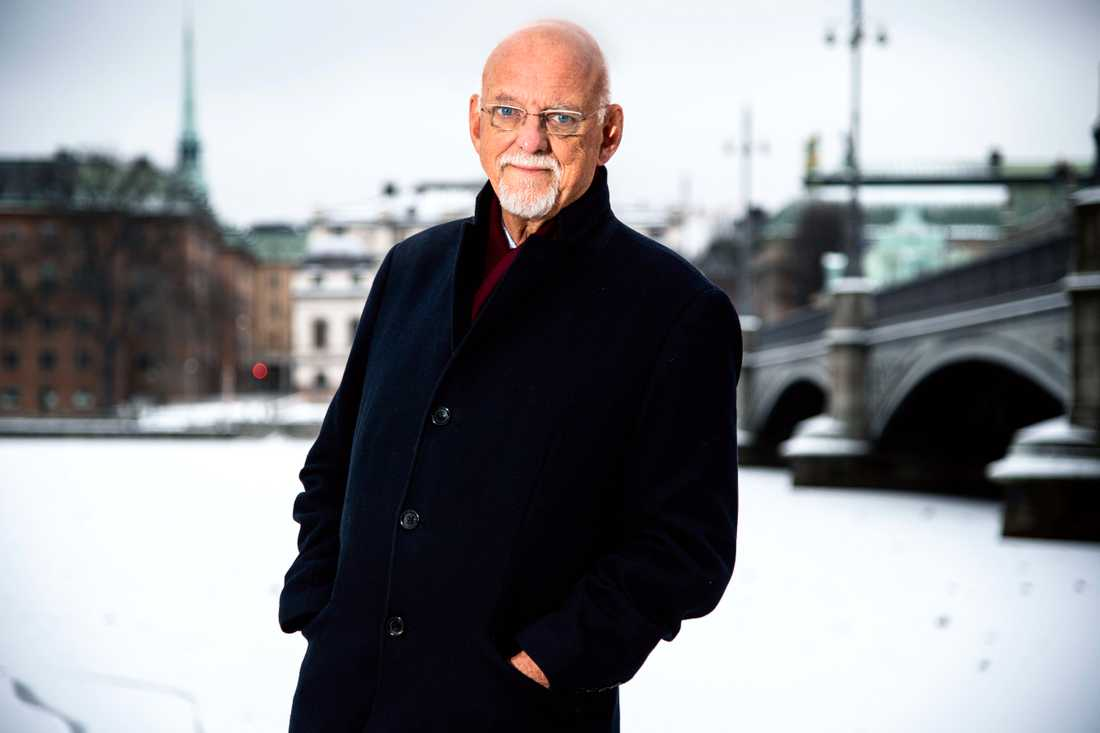 Hans senaste jobb var som statssekreterare med utrikesansvar hos Stefan Löfven.