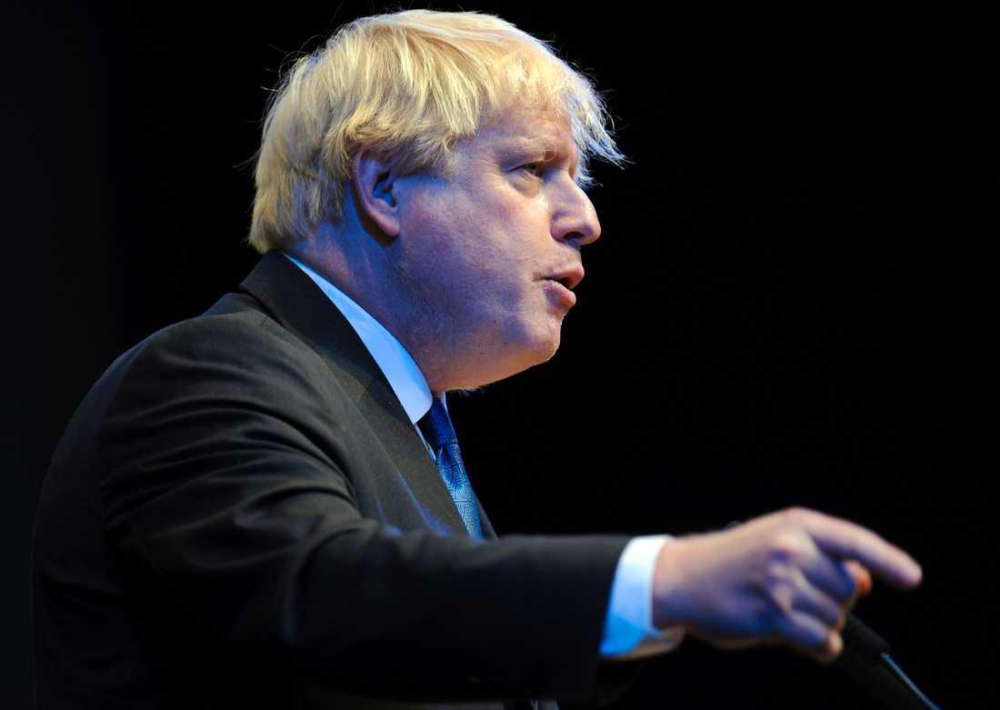 Storbritanniens tidigare utrikesminister Boris Johnson. Arkivbild.