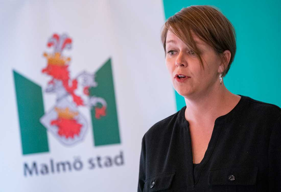 Katrin Stjernfeldt Jammeh, kommunstyrelsens ordförande i Malmö, sågar lagen. Arkivbild.