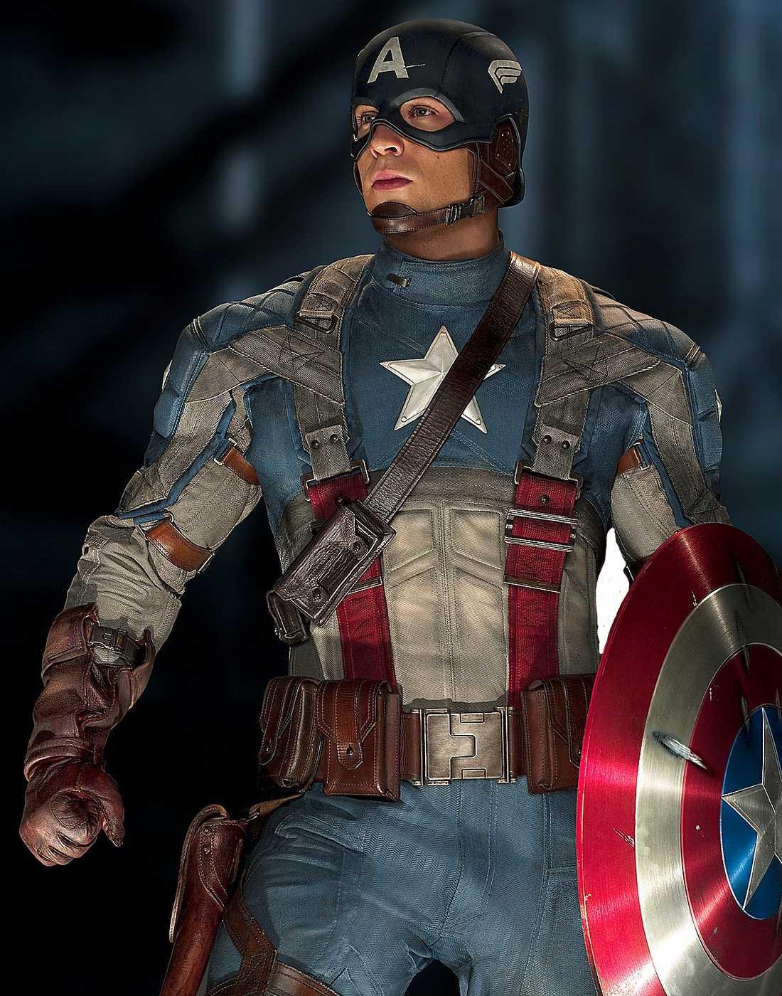 Captain America The first avenger: Chris Evans förvandlas till superhjälte 1942. Premiär 12 augusti.