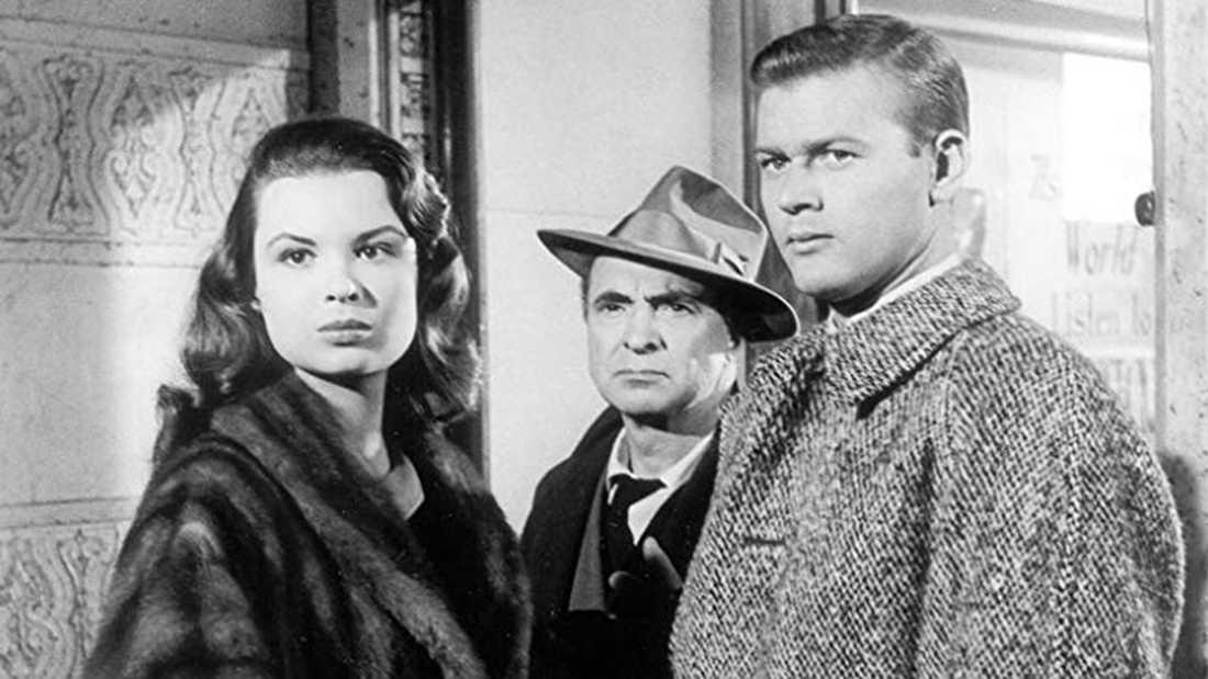 """Susan Harrison i """"Segerns sötma"""" från 1957."""