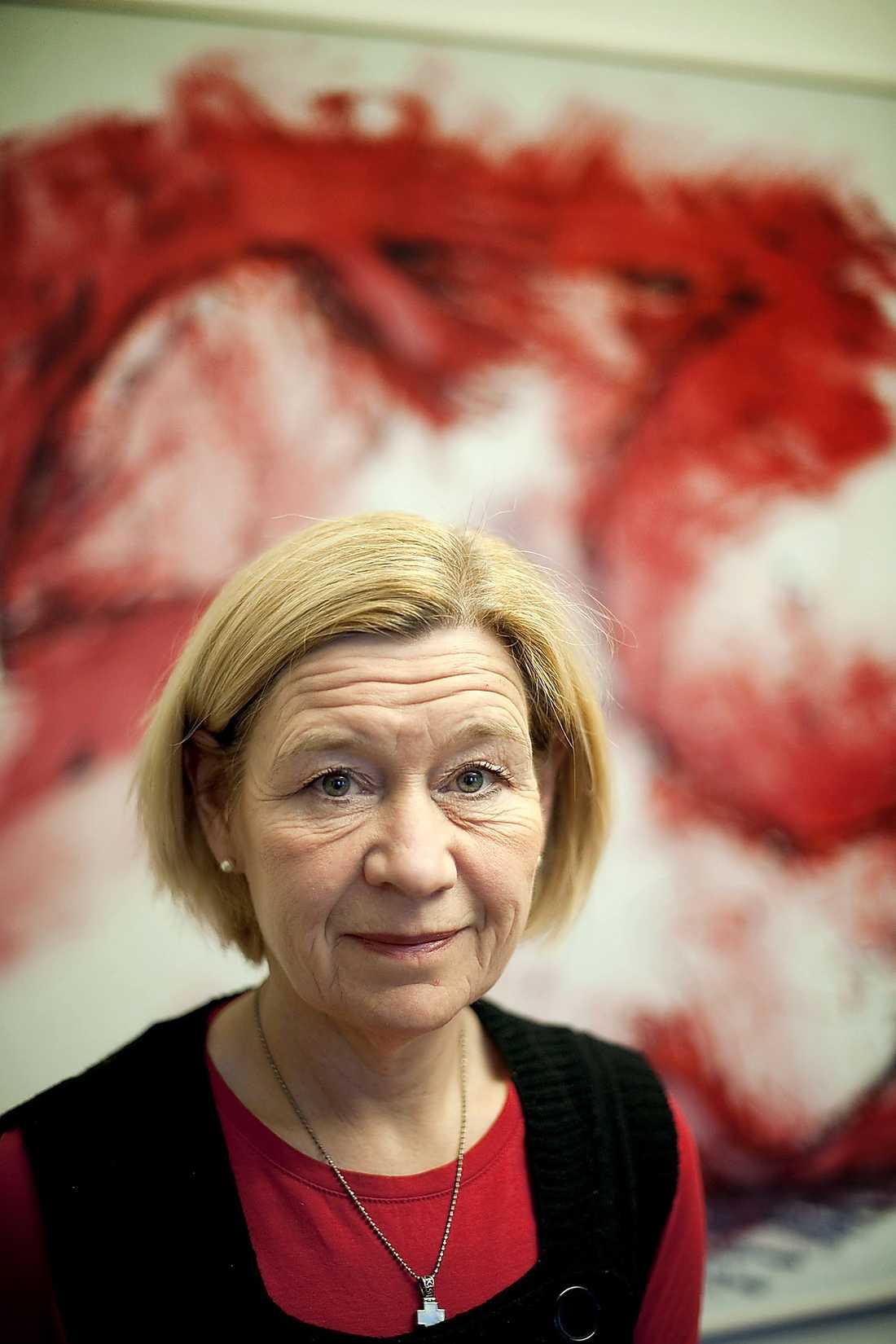 Anneli Hulthén, 51, kommunalråd i Göteborg: Styr rikets andra största stad och ligger något till höger.