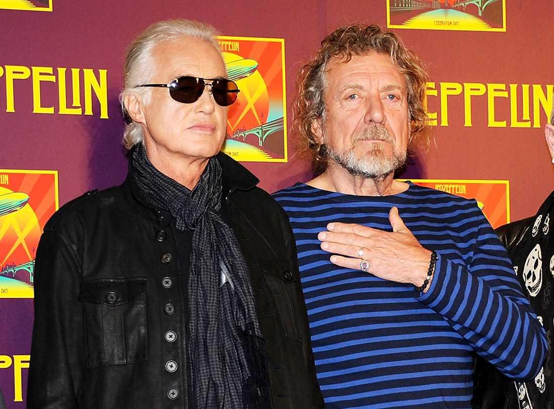 Jimmy Page och Robert Plant.