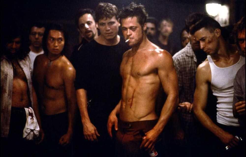 """Tro det eller ej – men David Finchers """"Fight club"""" med Brad Pitt och Edward Norton blev faktiskt en bioflopp när den släpptes 1999."""