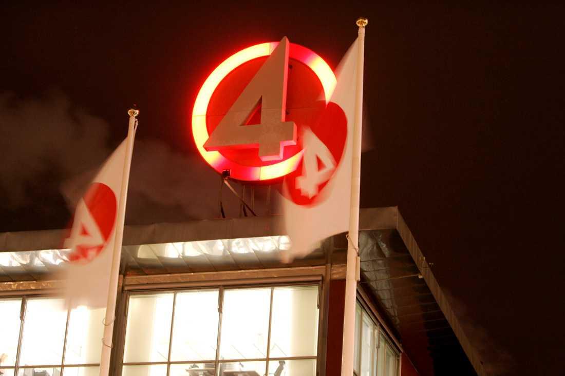 TV4-huset i Stockholm. Arkivbild.