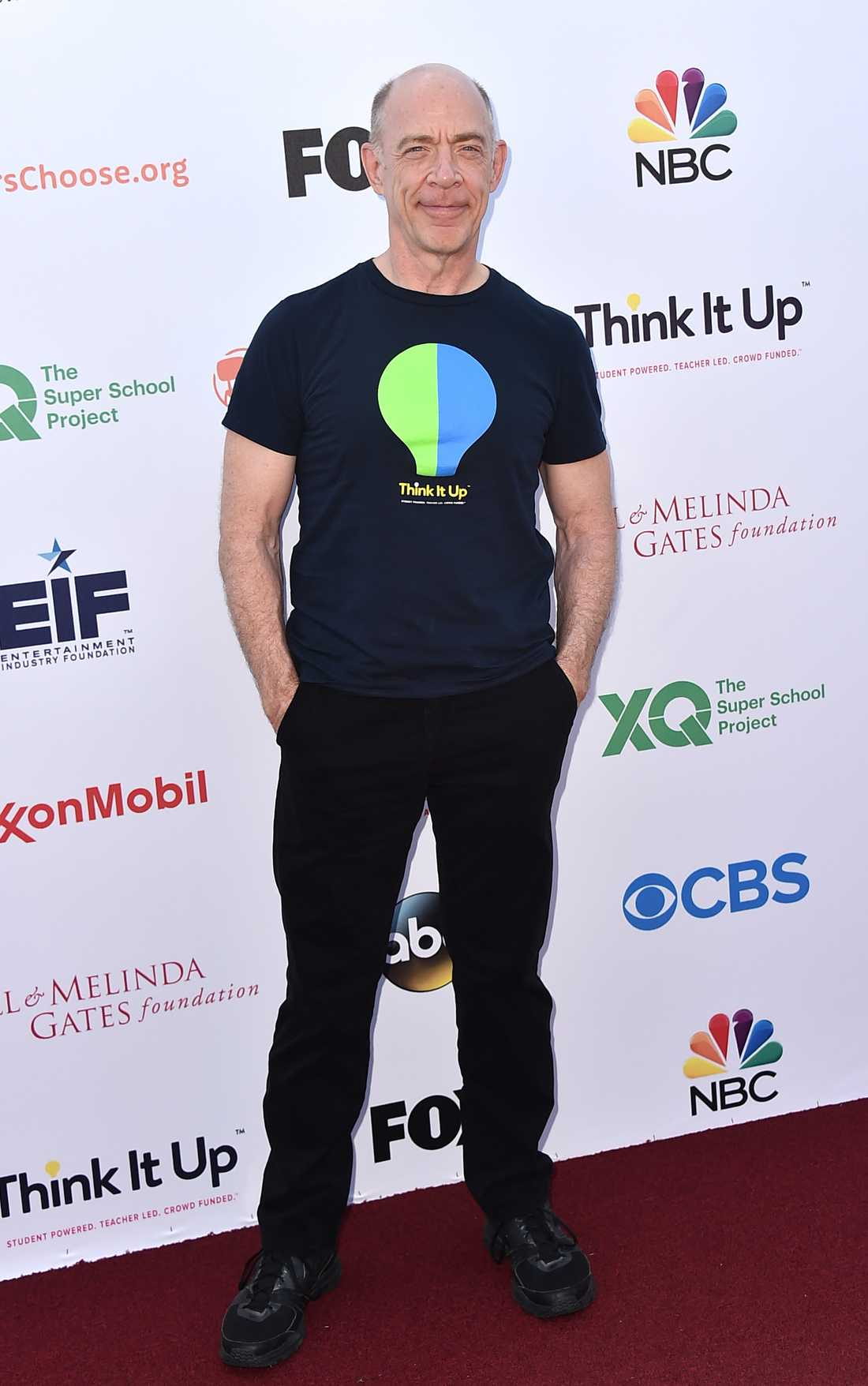 "J.K. Simmons på tv-sändingen ""Think It Up"" den 11 september 2015."
