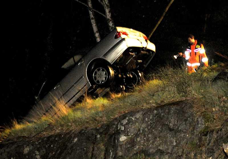 Kvinnans bil drogs senare på kvällen upp ur Strömma kanal.