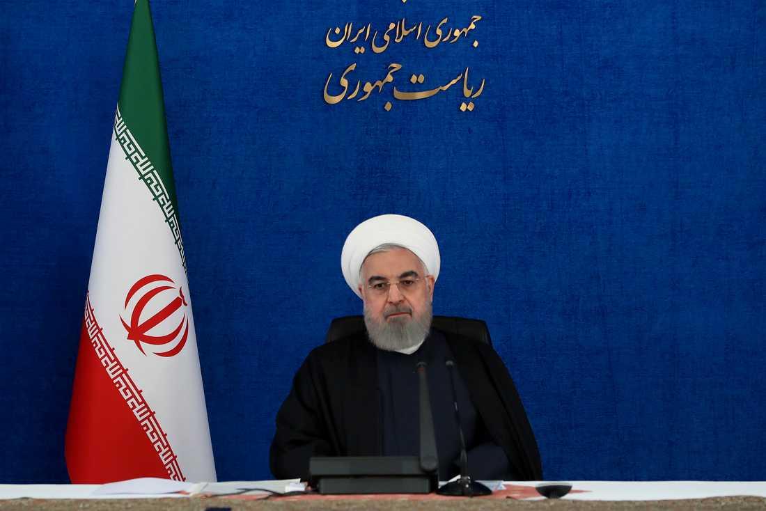 Irans president Hassan Rouhani. Arkivbild.