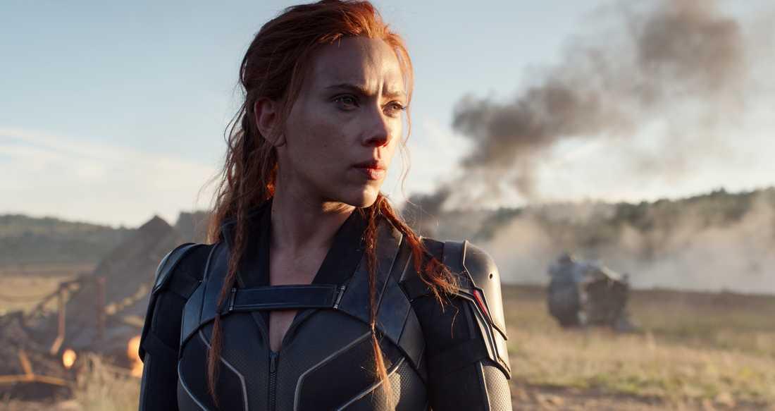 """Premiären av """"Black Widow"""", med Scarlett Johansson i huvudrollen, skjuts upp till maj 2021."""