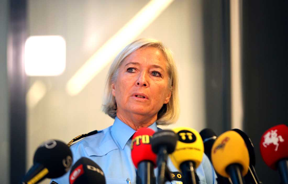 Carina Persson, regionpolischef Syd om gårdagens explosion utanför Polishuset i Malmö.
