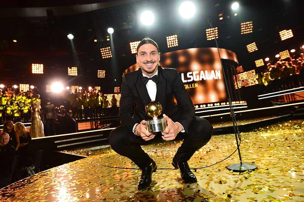 På Fotbollsgalan 2014 fick Zlatan sin nionde Guldbollen av Aftonbladet och Svenska fotbollförbundet.