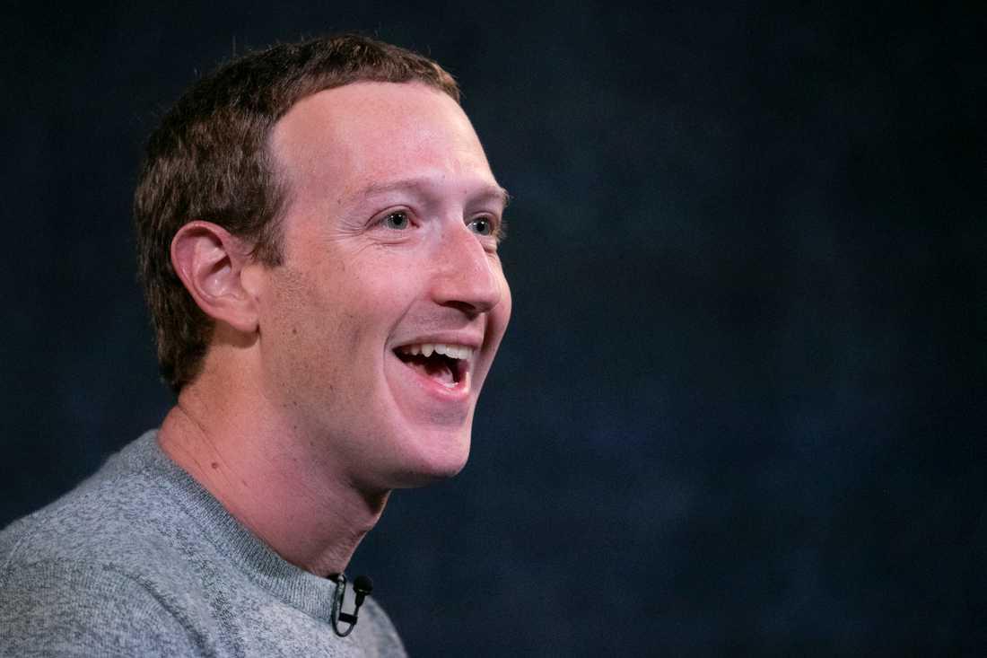Facebooks vd Mark Zuckerberg är nöjd med bolagets resultat under det senaste kvartalet. Arkivbild