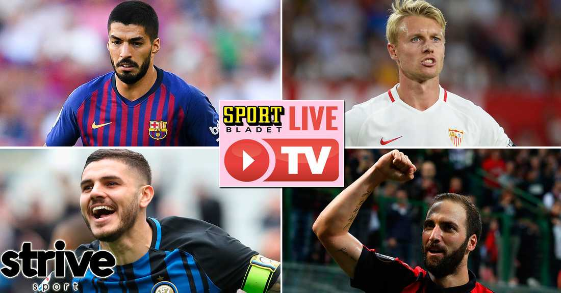 Inter-AC Milan stream  Se matchen hos Sportbladet  dc370b3d902a7
