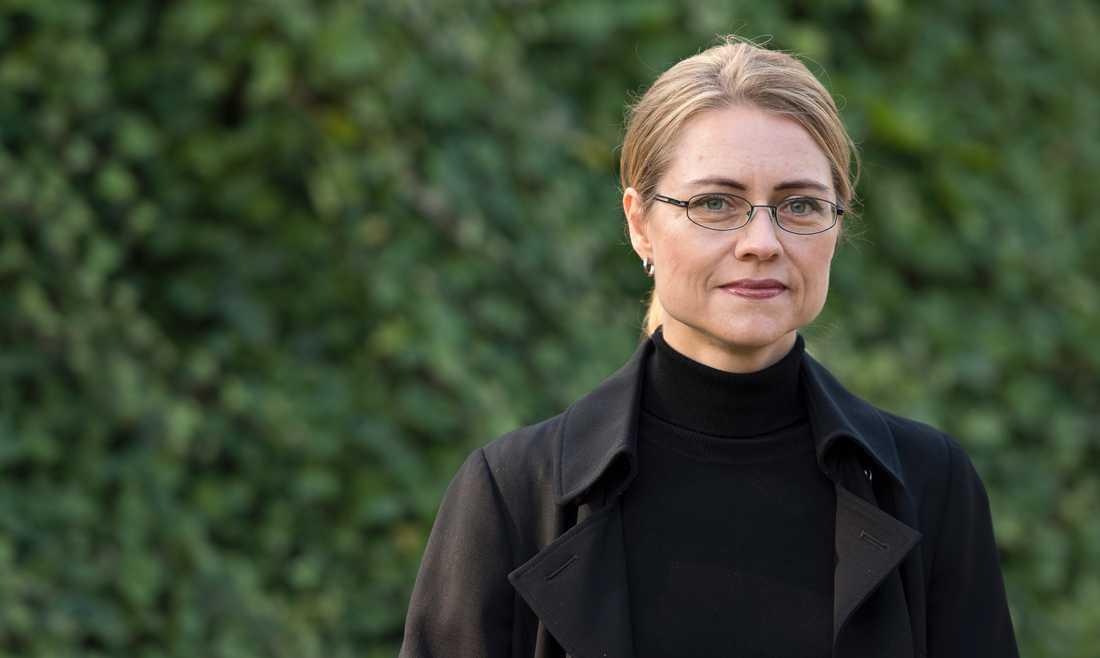 Professorn Jayne Svenungsson.