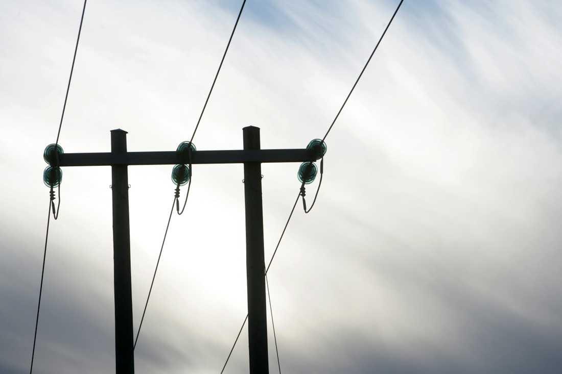 Härnösand drabbades av ett stort strömavbrott under fredagen. Arkivbild.