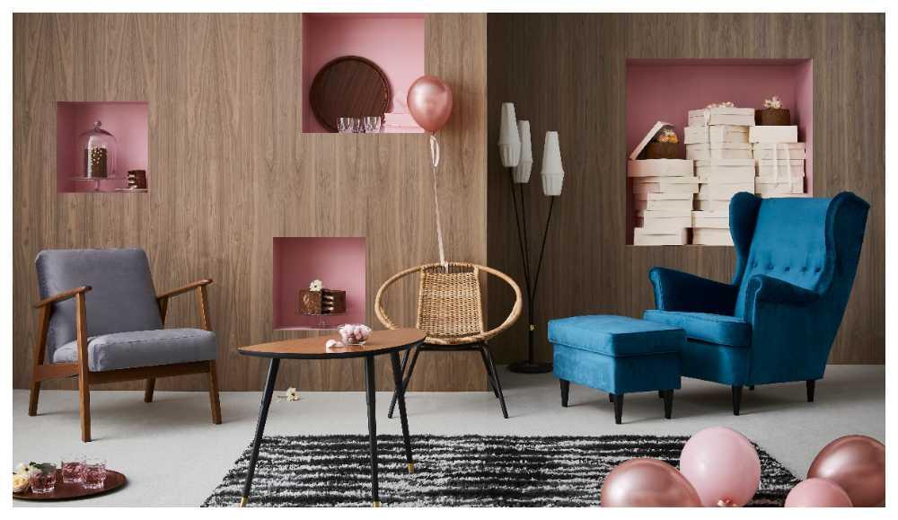 """Ikea firar sitt jubileum med replikor av bland andra """"Lövet"""", """"Trinett"""" och """"Bjurån""""."""