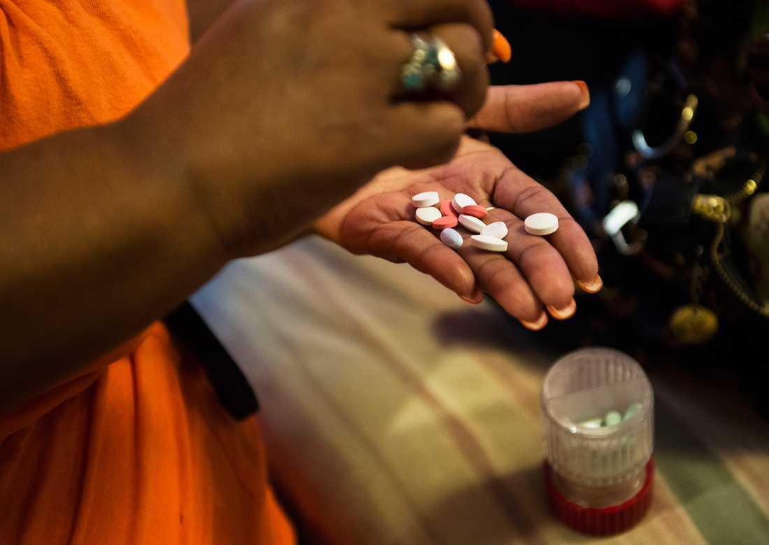 En handfull tabletter räcker inte ...