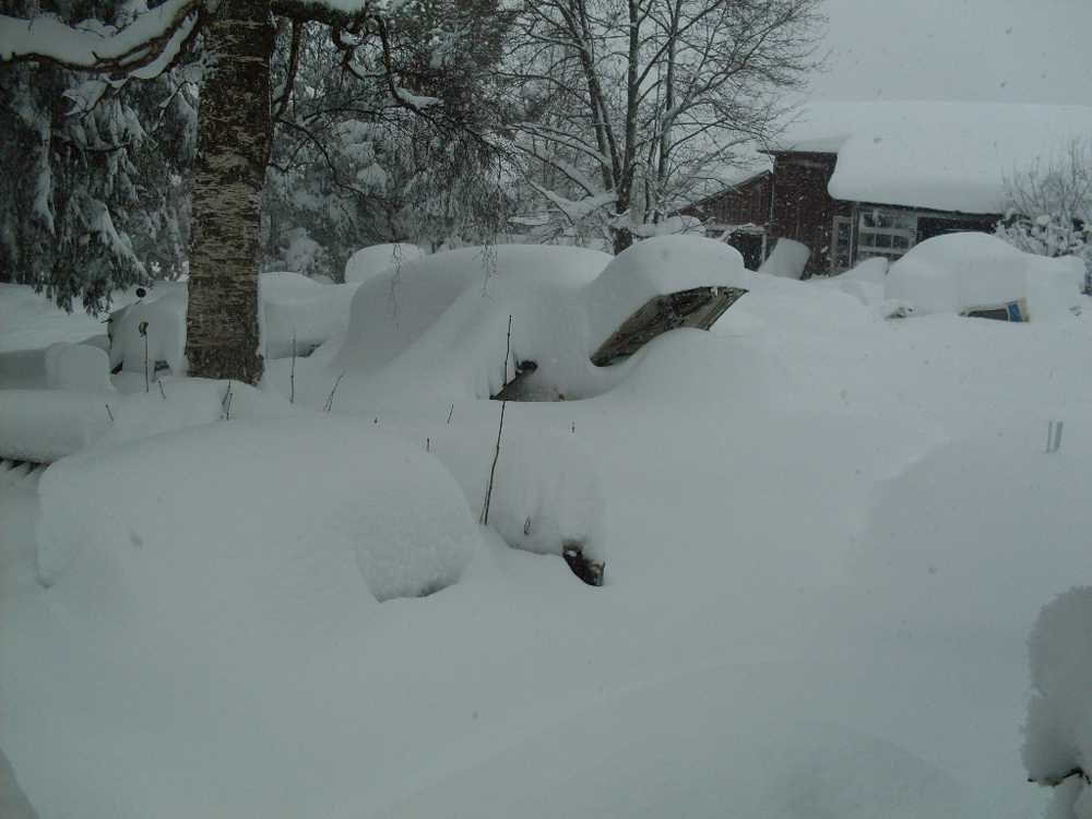 Vinterbild från Ockelbo.