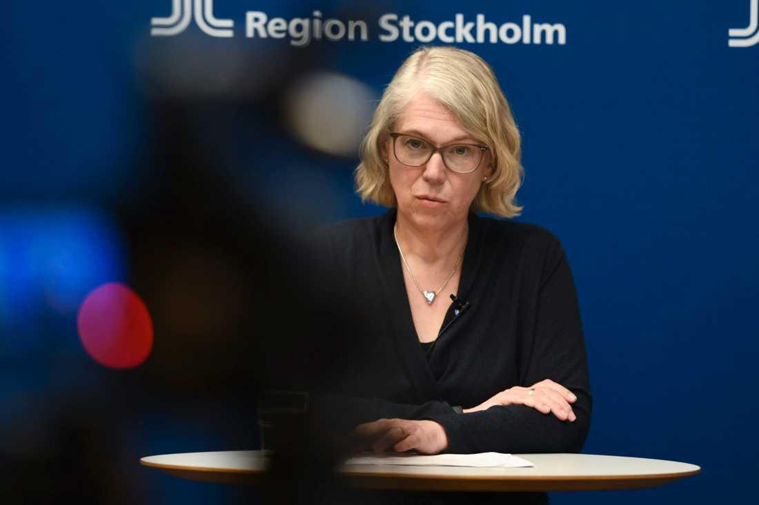 Smittskyddsläkare Maria Rotzén Östlund.