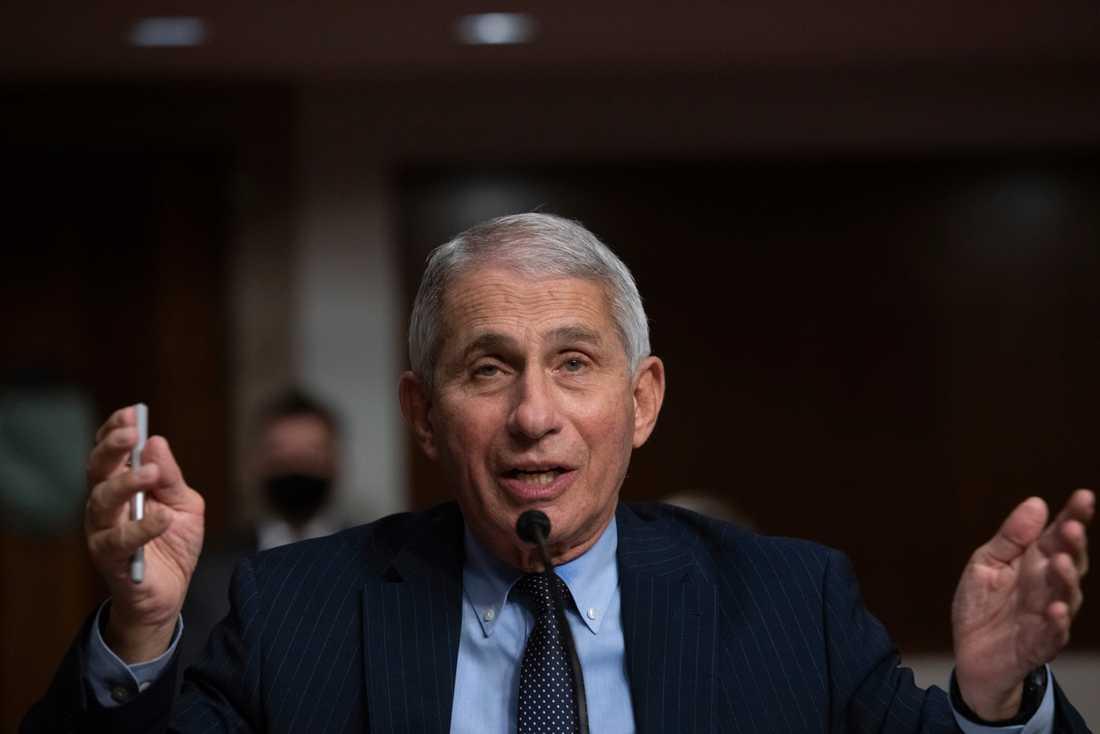 Anthony Fauci är rådgivare till Vita huset angående coronapandemin.