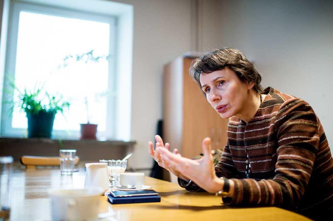 Agnieszka Romaszewska, vice ordförande för Polska journalistförbundet.