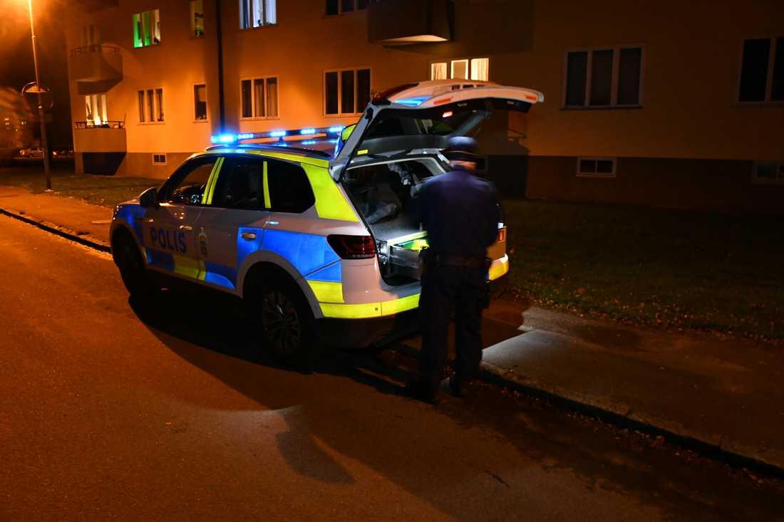 Flera personer larmade polisen om en hög smäll i Hässleholm.