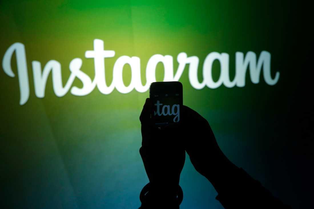 Den populära bildtjänsten Instagram har omkring en miljard användare över hela världen. Arkivbild.