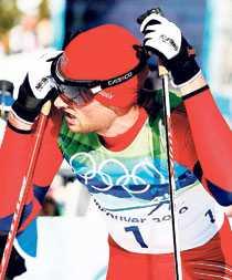 Den norska skidkungen Petter Northug har hittills inte motsvarat förväntningarna i OS.