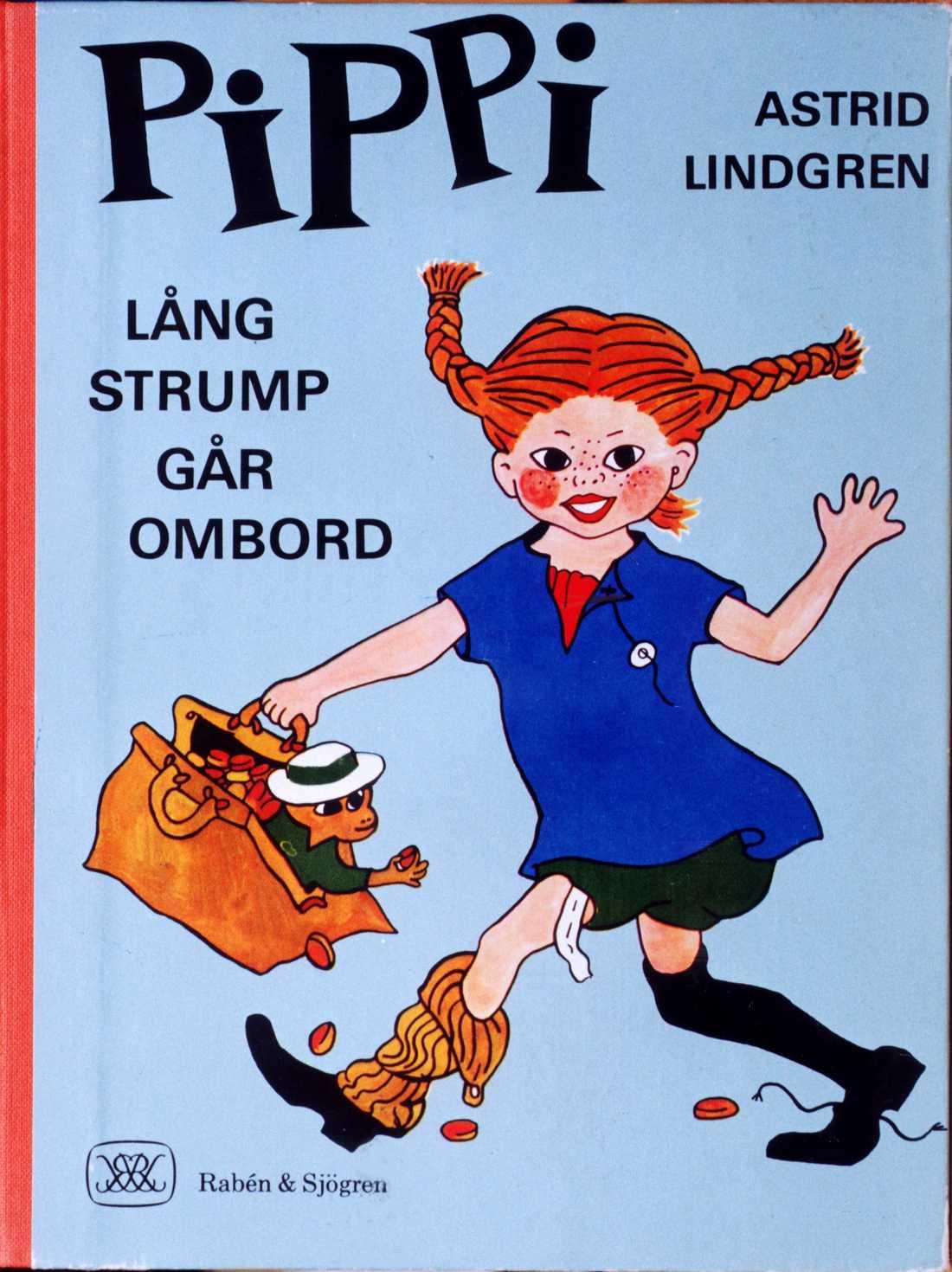 Pippi Långstrump går ombord.