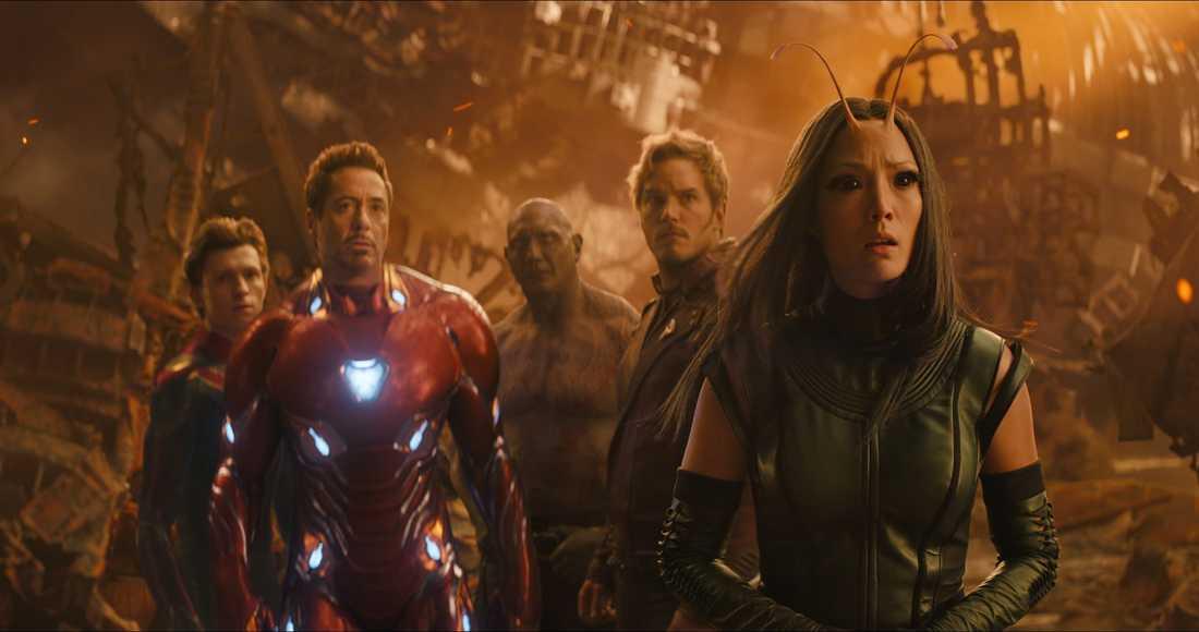 Avengers och Guardians jobbar ihop.