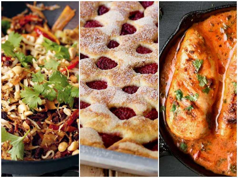 Laga wok, hallonkaka eller kycklinggryta snabbt och enkelt med rätt varor hemma.