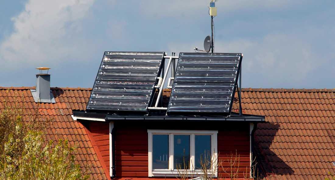 Med 30 procent i bidrag till nya solceller har kön växt dramatiskt.