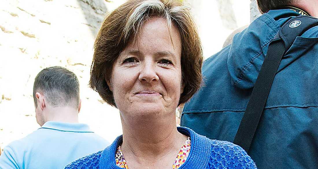 Socialdemokraternas dito, Carin Jämtin, är inte nöjd med att hennes parti inte nått sitt mål.