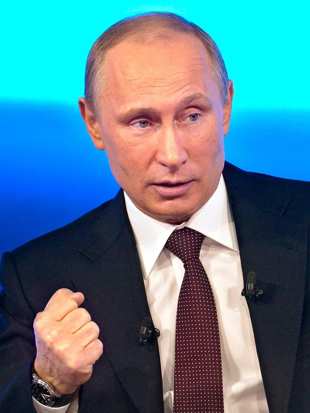 Rysslands president Vladimir Putin