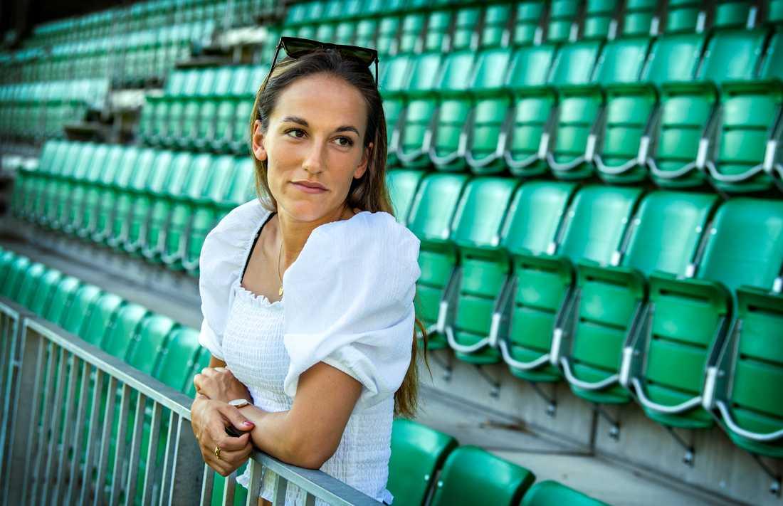 Eskilstuna Uniteds nya, landslagsmeriterade högerback Anna Oscarsson har kämpat med sin mentala ohälsa under flera år.