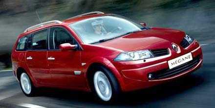 Fransoser tar priset Renault Megane är bland de tystaste bilarna på svenska vägar...