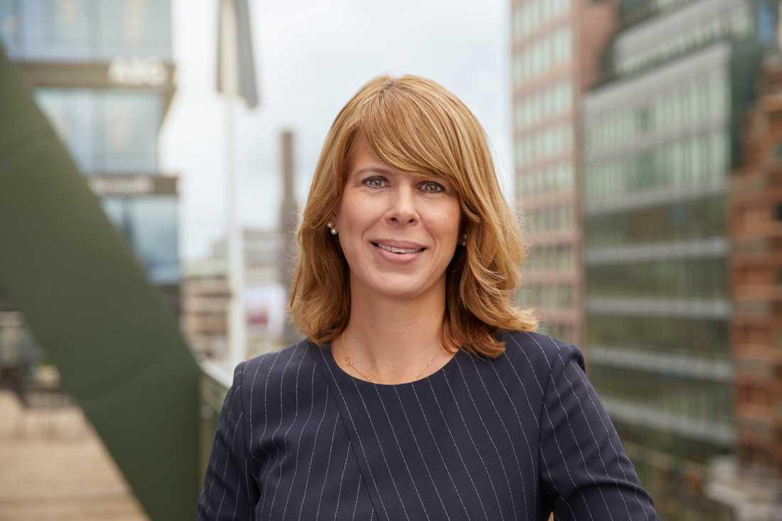 Kristin Magnusson Bernard, vd på Första AP-fonden.